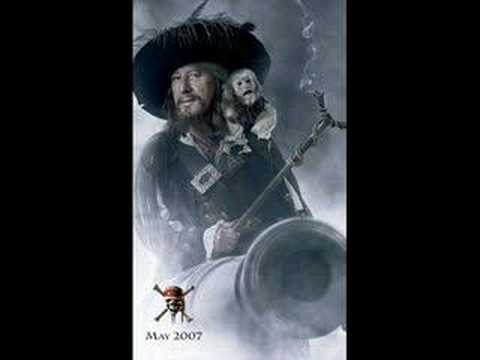 Pirates of the caribbean - barbossa is hungry