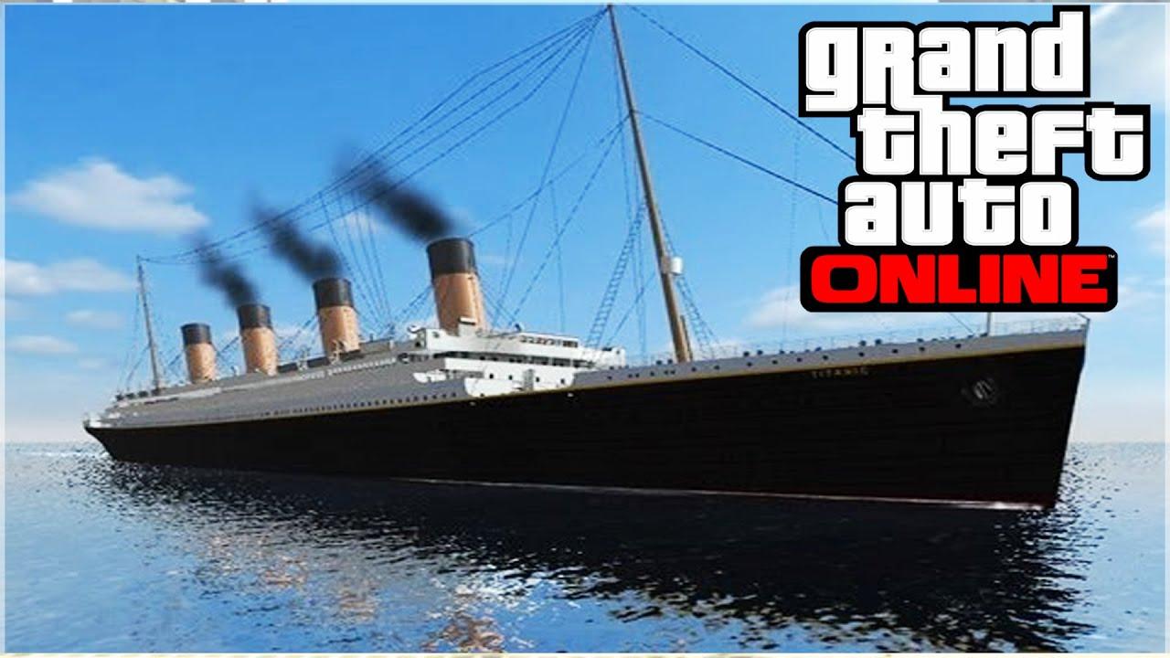 Titanic Found On Gta 5 Gta 5 Funny Moments Youtube