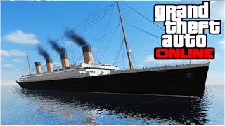 TITANIC found on GTA 5? (GTA 5 Funny Moments)