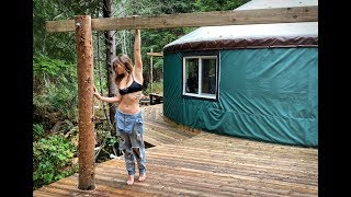 She's ALONE & OFF GRID In A YURT | SO COLD - Winter Arrives, Ep. 66