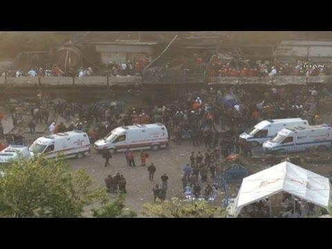 Turkey mine blast kills over 200, hundreds more trapped