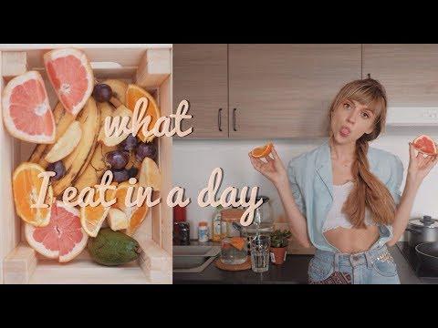 Что я ем в течение дня ♡ What i eat in a day | Vegan