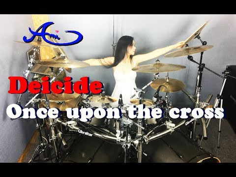Deicide  - Once Upon The Cross drum cover by Ami Kim (27th) thumbnail