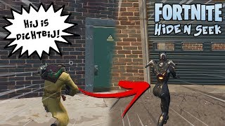 VERSTOPPERTJE SPELEN IN STEDEN! - Fortnite Hide and Seek