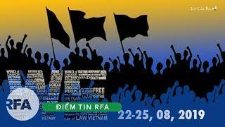 Điểm Tin RFA | Kêu gọi biểu tình chống Trung Quốc gây hấn với VN