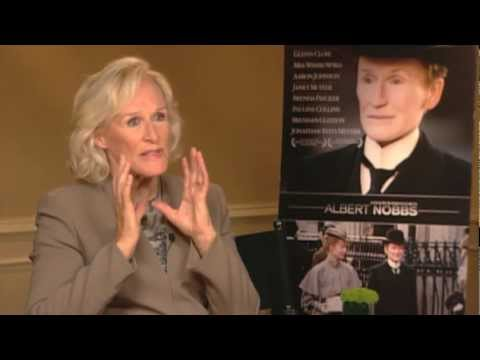 'Albert Nobbs' interview with Glenn Close