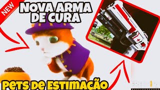 FINAMENTE!!! NOVO PETS NO OURO ROYALE,NOVA ARMA DE CURA E MUITOS MAIS NO FREE FIRE BATTLEGROUNDS