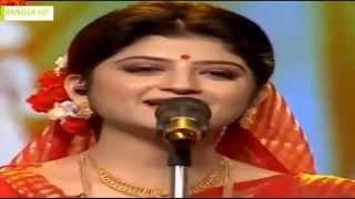 Aditi Munshi   Laje Ranga Holo Kone Bou Go   Bangla Song