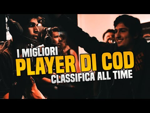 CLASSIFICA BEST 10 ITALIAN PLAYERS [CALLOFDUTY 2016]