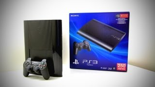 New PS3 Super Slim Unboxing (PlayStation 3 Super Slim 250GB Game Of The Year Edition Unboxing)