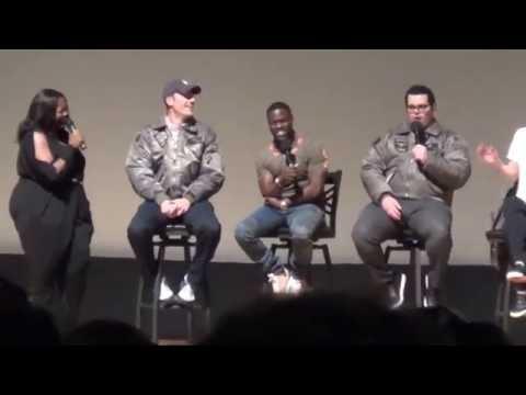 Kevin Hart, Josh Gad, Kaley Cuoco Q&A
