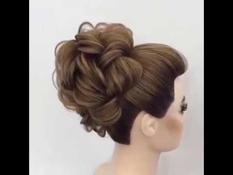 A really easy hairstyle for a special occasion