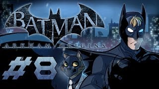 Batman: Arkham Origins Gameplay / Playthrough w/ SSoHPKC Part 8 - #1 Stealth EU