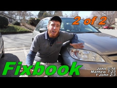 "P0400 P0401 P0402 EGR Cleaning ""How to"" Honda Civic Hybrid 2 of 2"