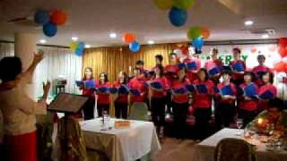 O COME ALL YE FAITHFUL by the Joy Baptist Church Choir, Ipoh, Malaysia