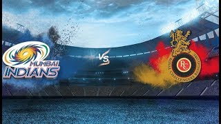 MI vs RCB highlights VIVO IPL 2018