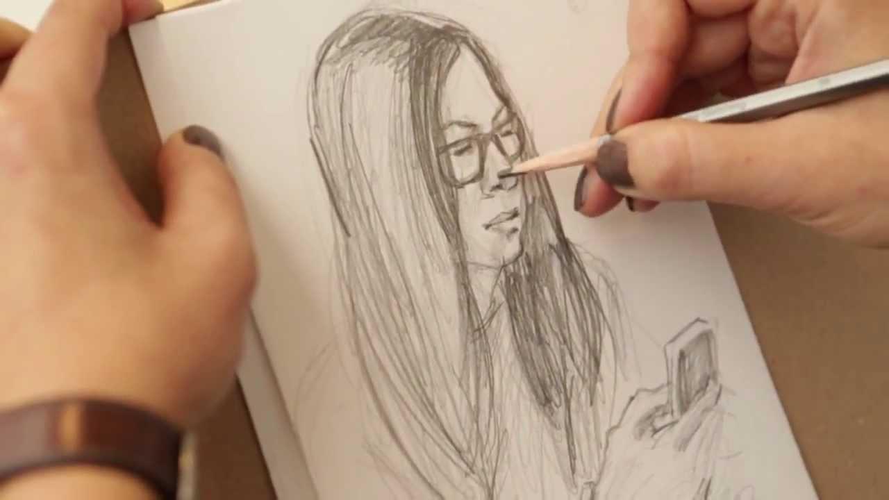 как научиться рисовать карандашом лицо: