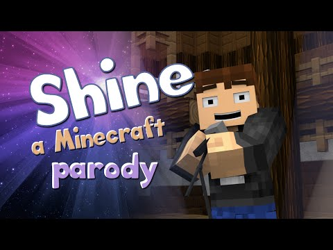 ♪shine♪ - A Minecraft Parody Of Roar By Katy Perry video