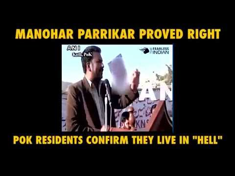 Manohar Parrikar proved right - A MUST WATCH