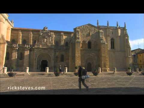 León, Spain Travel Guide Video: Remarkable Religious Art - Spanyolország