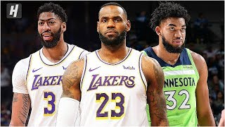 Minnesota Timberwolves vs Los Angeles Lakers - Full Game Highlights | December 8, 2019