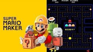 Pac-Man Remake in Super Mario Maker
