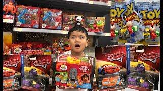 Toy Hunt New Disney Cars Diecast 2019 Ryan's World Toys Smashin Surprise Safes Toy Story Tinny