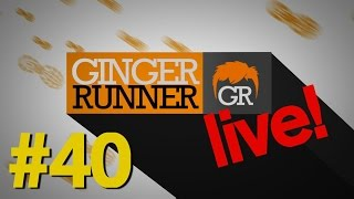 GINGER RUNNER LIVE #40 | Bitten twice by a Rattlesnake: Jenn Thompson's incredible story!