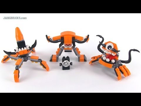 LEGO Mixels Series 2 Flexers Kraw. Tentro. & Balk reviewed!