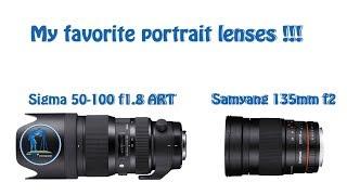 Best portrait lens choise for APS C cameras !!! My favorite lenses for portraits !!!