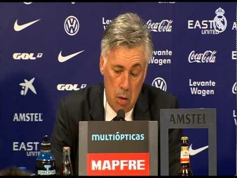 Levante 0-5 Real Madrid: conferencia de prensa de Carlo Ancelotti