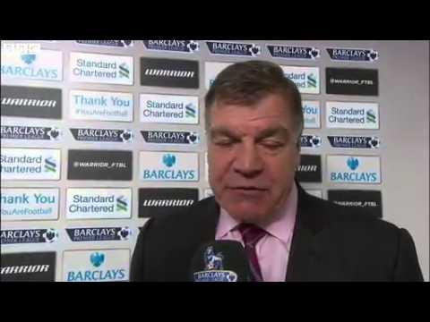 Sam Allardyce Post Match Interview   Liverpool 4 1 West Ham