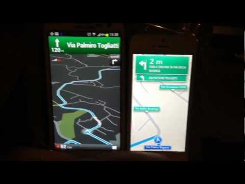 Navigatore Apple vs Google Maps test su strada by HDblog