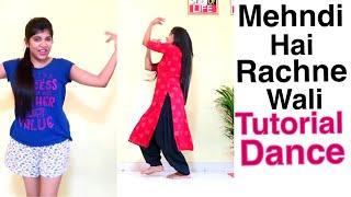 Mehndi Hai Rachne wali Dance   Tutorial for Beginners   Easy steps   Dance for Sangeet , Shadi