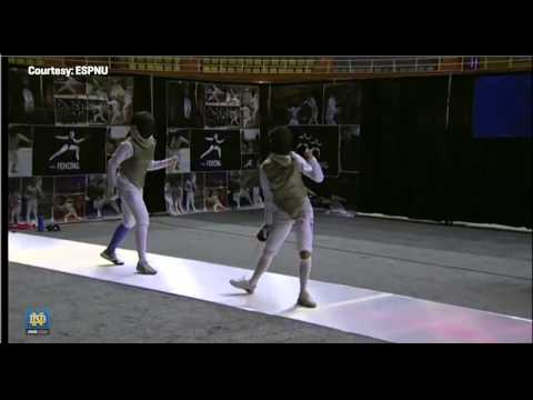 Lee Kiefer, NCAA Champion - Notre Dame Fencing
