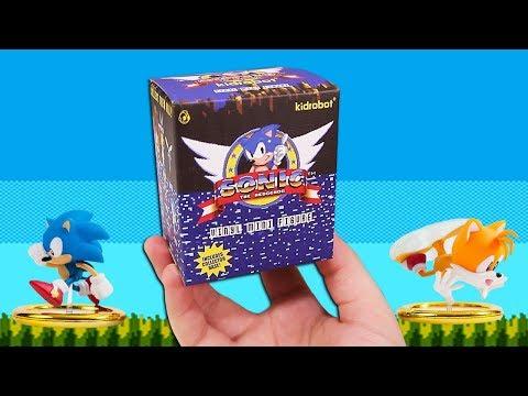 Opening 20 Sonic Mystery Mini Figures!