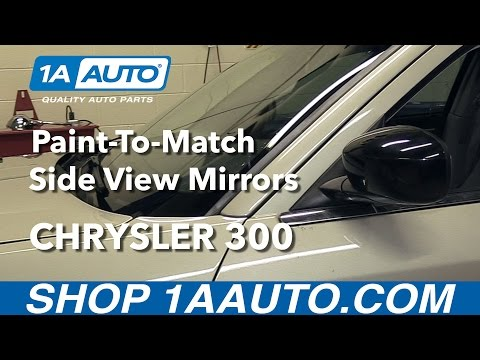 How to Install Paint-to-Match Side View Mirrors 2005-10 Chrysler 300