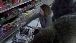 TV Commercial Spot - Snickers - Creepy Tall Lady In Grocery Store - Let Me Help You - Halloween 2014