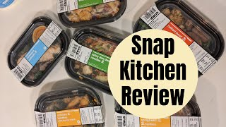 Snap Kitchen Prepared Meal Delivery Kit | Review