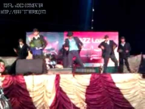 Pakistani Michael Jackson In Mobilink Jazz Concert Sukkur , 9th May 2012 video