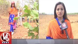Actress Reshma Rathore Visits Bayyaram, Offers Prayers At Gattamma Temple