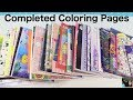 Adult Coloring Books Completed Finished Pages Book Disney Tokidoki PaulAndShannonsLife mp3