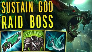 SUSTAIN GOD RAID BOSS WARWICK [ BURST HEAL ]