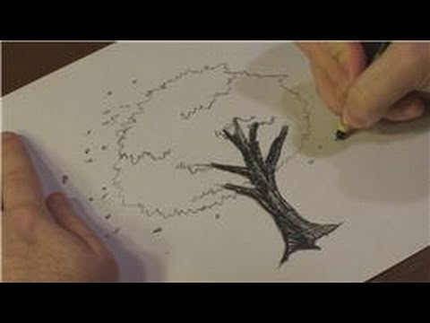 Nature drawings how to draw cherry blossoms in black and for How to draw nature drawing