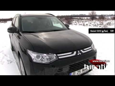 Mitsubishi Outlander 2.2l DI-D AWD A/T explicit video 1 of 4