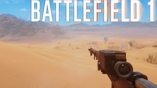 BF1 NEW MAP SNIPER GAMEPLAY - Battlefield 1