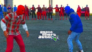 GTA 5 ONLINE -  BLOODS VS CRIPS WHO WILL WIN?