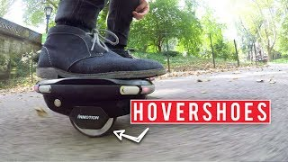 Flying on Air On Hovershoes | Inmotion