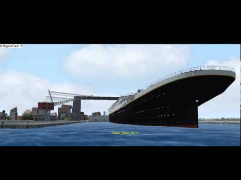Titanic Launch ( Virtual Sailor ) in colors