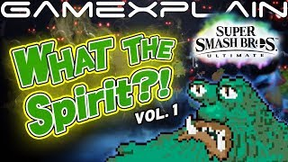 What the Spirit?! Smash Bros. Ultimate Origins - Vol. 1 (Master Belch, Blaze the Cat, & More!)